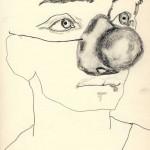 Clown-1_pencil-on-paper
